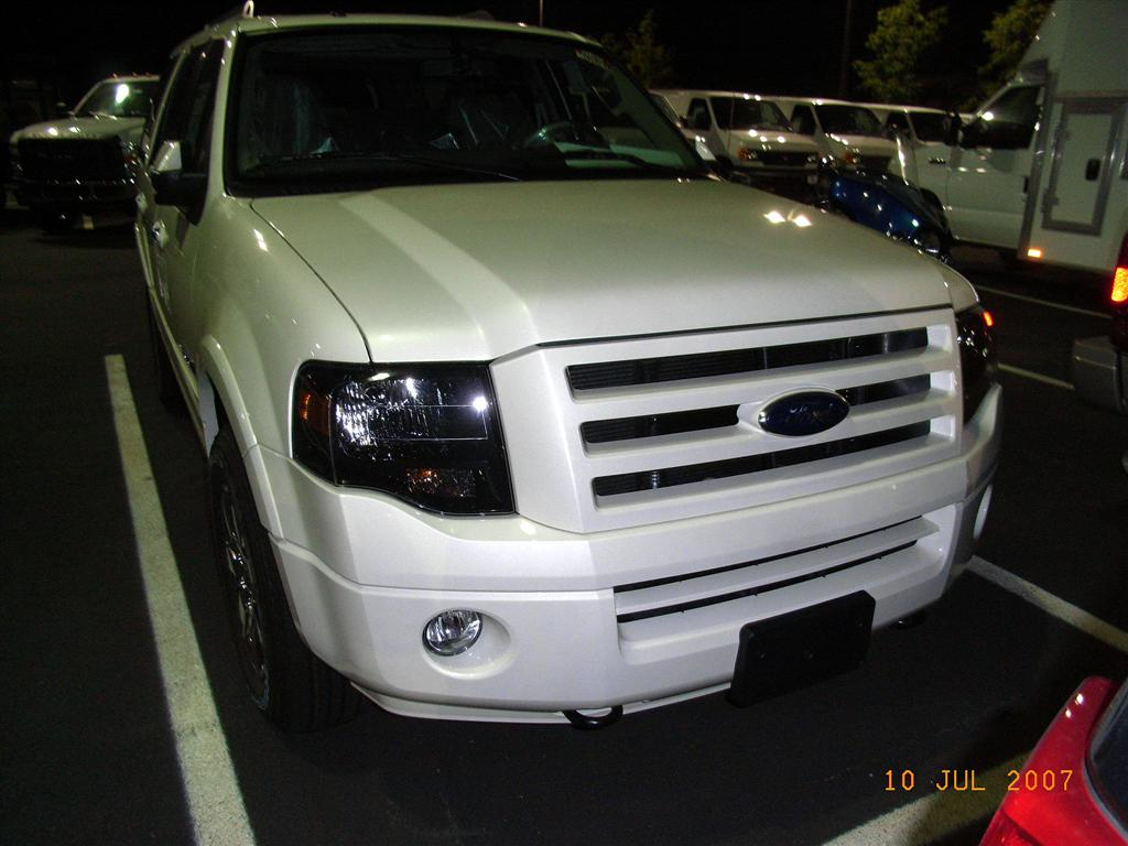 My 2008 Ford Expedition Limited Ownership Experience Maintenance 2007 Edge Ac Drain Location I Personally Did Not Like The Original Grill On That Was Colored Matched With Body Color Or Tinted Smoked Headlights So Ordered A